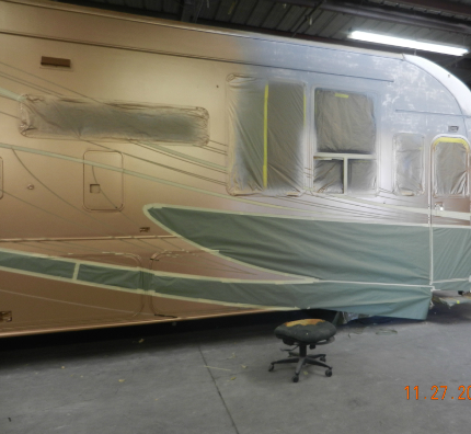 Rv custom Painting los angeles orange county